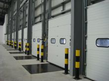 Промышленные секционные ворота 2